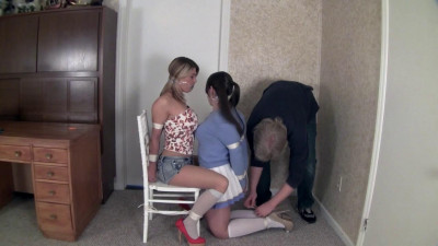 OfficePerils Carissa Montgomery And Elizabeth Andrews – Reporter Perils Snoopy College Student