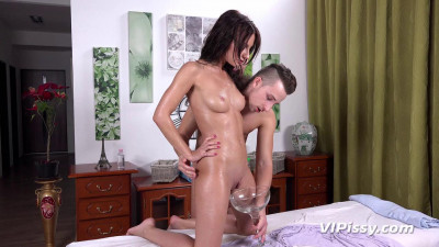 Pissing delight sex with my stud