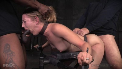 SexuallyBroken Stunning Mona Wales Dicked Down By BBC In Tight Bondage
