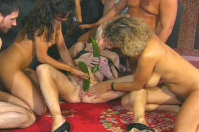 Group fuck with mature ladies