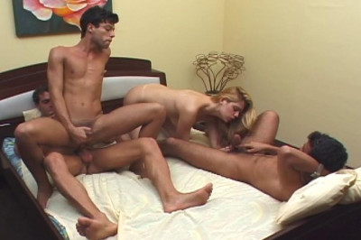 Bi Group Sex Club 5, scene 1