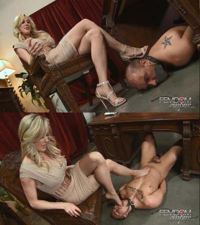 3D – Mistress Brandi Love – Office Foot Bitch