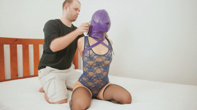 Lace Bodysuit And Purple Armbinder (2014)