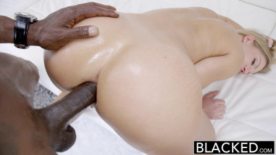 Pretty Blonde Girl Fucked By A Big Black Dick