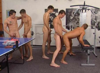 Gangbang with 14 hot men