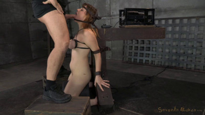 SexuallyBroken – Dec 19, 2014 – Redhead Jessica Ryan In Strict Bondage On Sybian