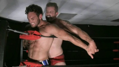 Muscle domination wrestling — Matt Thrasher vs Chace Lachance