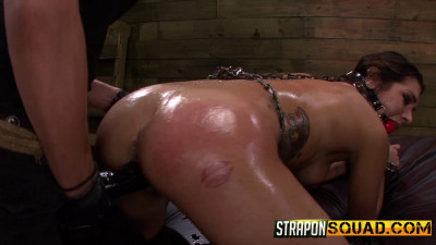 Straponsquad – Sep 25, 2015 – Anal Hook Double Penetration BDSM Fun