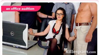 Sasha Kash - An Office Audition HD 720p