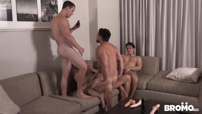 Hot Foursome Aspen, Addison, Evan & Tobias (720p)