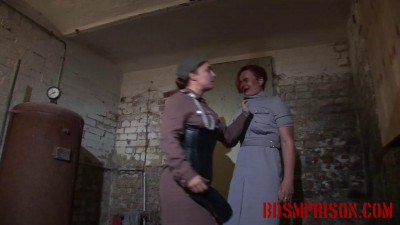BDSMPrison – Prison Guard Is Punished & Spanked For Allowing Lise To Escape