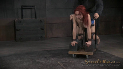 Realtimebondage – Jul 20, 2015	- Total Destruction In The Final Part Of Violet Monroe's BaRS Show
