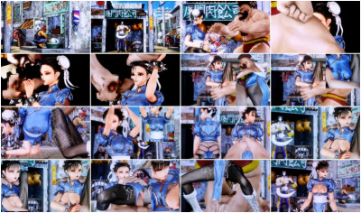 Fighting Girl Li – Defeated And Automatically Assaulted Super HD-Quality 3D 2013