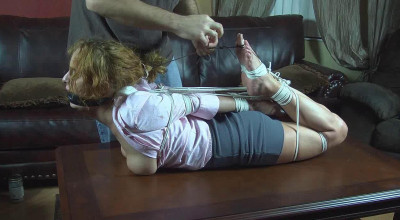He Throat Fucked Me with His Feet Then Left Me Hogtied - Part 2