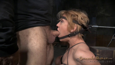 Big Titted Hardbody Blonde Darling Brutally Facefucked