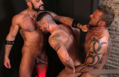 "Mario Domenech, Antonio Miracle & Rogan Richards In ""The Creation"""