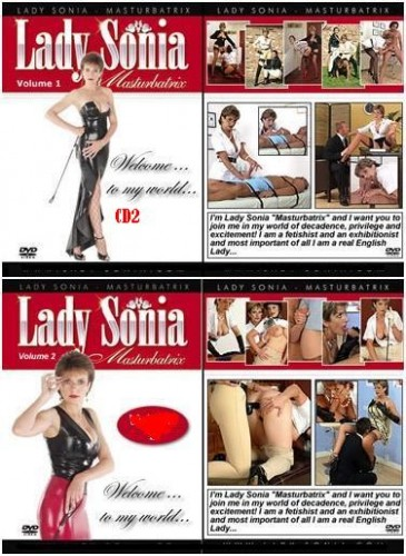 Lady Sonia Masturbatrix - Volume 2 dvd2