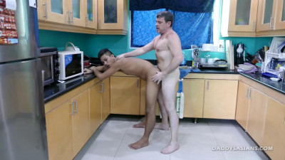 Kitchen Sex With Josh