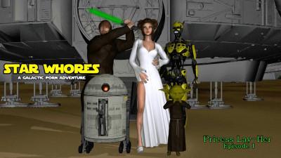 Star Whores Droid Pleasures