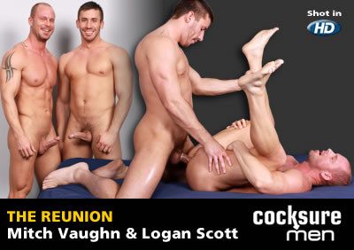 Mitch Vaughn and Logan Scott