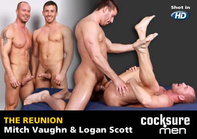 Mitch Vaughn and Logan Scott