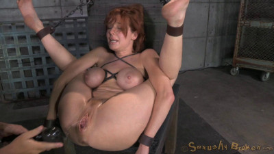 Redheaded Veronica Avluv Bound Fucked Rough Hard, Massive Squirting Multiple Orgasms (2014)
