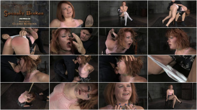 SexuallyBroken – Dec 31, 2014 – Pale Claire Robbins Tightly Tied And Trained…