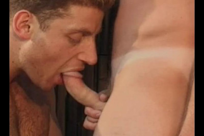 Nice Cock Sucking For Homo-sex By 2 White Guys