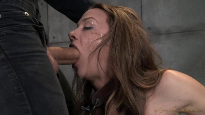 Chanel Preston sexually disgraced, tag teamed by cock, brutal deep throat total destruction by dick!