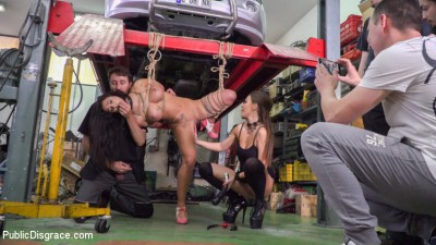Susy Gala Is A Public Fuck Doll – Part 1
