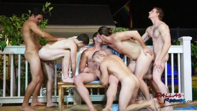 Huangry Jock Orgy: P2