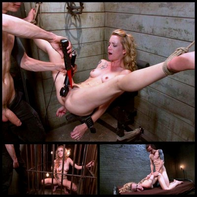 Caged Sex Slave (1 Aug 2014) Fucked And Bound