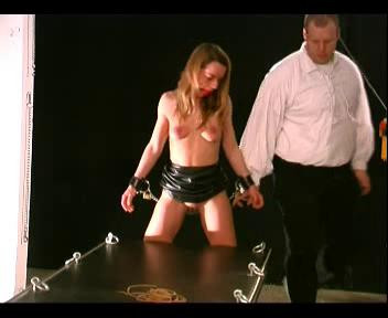 She Then Is Treasted To Some Tight Breast Bondage