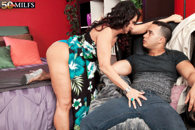 57-Year-Old Azure Gets Ass-Fucked By A 25-year-old