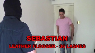 Sebastian - Leather Flogger - 36 Lashes