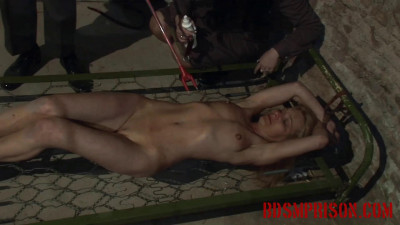 Mirela Is Tormented With A Cattle Prod In Punishment & Imprisonment