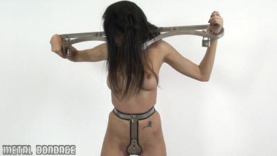 Yasmine – hardened steel chastity belt