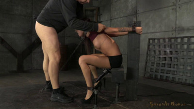 Kendra Is Chained Down With Brutal Pounding Deepthroat