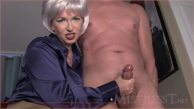 Mistress T - Mature cuckoldress takes younger lover