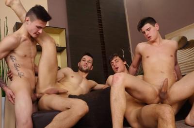Roman Madlec, Milan Neoral, Simon Beber & Honza Onus