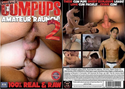 Bareback Cum Pups 2 (2009) - hairy latino homosexual men.