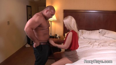 Deep Penetration Of Hot Blonde Roxy Raye