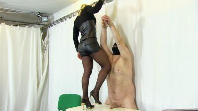 Zita's cock and ball torture