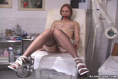 Allanah's Real Painful Examination