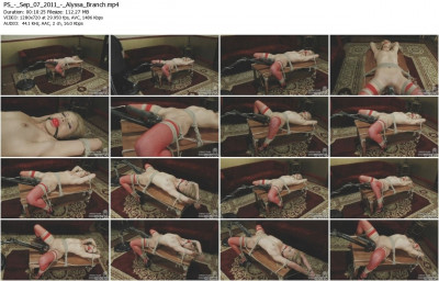 PERFECT SLAVE Sep 07, 2011 – Alyssa Branch (PICS, HD)