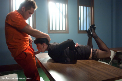"""""""Convict Lust"""" A Featured Presentation: A Lawyer Brutally Fucked And Dominated By A Vicious Criminal"""
