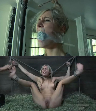 Extreme Bondage, Hanging, Hogtie And Torture For Hot Young Model
