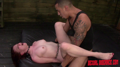 Emma Evins Is Fucked Rough, Rides Her Master & Earns A Facial In Bondange (2015)