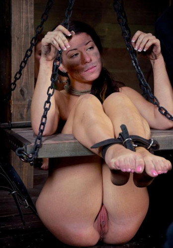 Girl have some sadistic fun