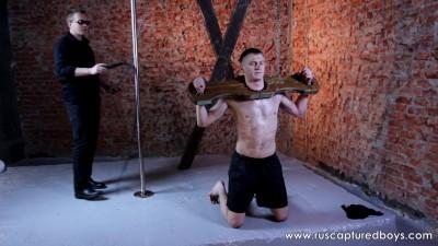 RusCapturedBoys — New Punishment for Dacha's Prisoner